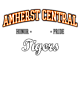 Amherst Central Adult Competitor T-shirt