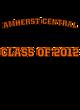 Amherst Central Fan Favorite Ladies Long Sleeve Cotton T-Shirt