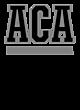 Amherst Christian Academy New Era Ladies Tri-Blend Performance Baseball Tee
