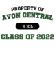 Avon Central Champion Heritage Jersey Tee