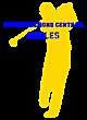 Alfred Almond Central Fan Favorite Ladies Cotton V-Neck T-shirt