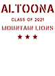 Altoona New Era Ladies Heritage Blend Varsity Hoodie