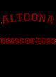 Altoona Womens Scorecard Crop Tee