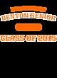 Benton Senior New Era Tri-Blend Pullover Hooded T-Shirt