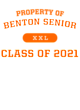 Benton Senior Youth Competitor Hooded Pullover
