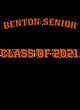 Benton Senior Lightweight Hooded Unisex Sweatshirt
