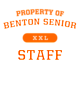 Benton Senior Youth Attain Wicking Long Sleeve Performance Shirt