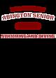 Abington Senior Ladies Tri-Blend Wicking Long Sleeve Hoodie