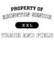 Abington Senior Ladies Performance Blend V-Neck T-Shirt