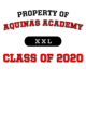Aquinas Academy Classic Fit Heavy Weight T-shirt