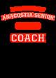 Anacostia Senior Ladies Sport-Wick Heather Fleece Hooded Pullover
