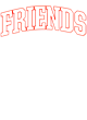 Friends Fan Favorite Heavyweight Hooded Unisex Sweatshirt