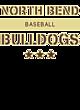 North Bend Adult Baseball T-Shirt