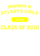 Atlanta Girls' Holloway Electrify Long Sleeve Performance Shirt