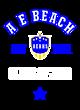 A E Beach Tech Fleece Hooded Unisex Sweatshirt