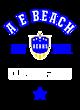 A E Beach Youth Ombre Long Sleeve T-Shirt