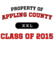 Appling County Tri-Blend Performance Wicking T-Shirt