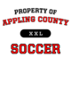 Appling County Womens Long Sleeve V-Neck Competitor T-Shirt