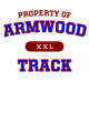 Armwood Ladies Sport-Wick Heather Fleece Hooded Pullover
