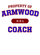 Armwood Ladies Tri-Blend Wicking Fan Tee