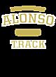 Alonso Ladies Tri-Blend Wicking Long Sleeve Hoodie