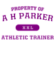 A H Parker Classic Fit Heavy Weight T-shirt