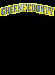 Greene County Tri-Blend Wicking Fleece Short Sleeve Hoodie