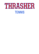 Thrasher Womens Sleeveless Competitor T-shirt