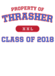 Thrasher Youth Competitor Hooded Pullover