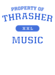 Thrasher Allmade Long-Sleeve Tri-Blend Tee