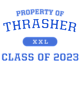 Thrasher Beach Wash Garment-Dyed Hooded Unisex Sweatshirt