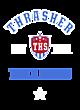 Thrasher Heathered Short Sleeve Performance T-shirt