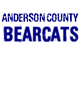 Anderson County Nike Legend Tee