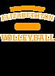 Elizabethton Youth Tri-Blend Long Sleeve Hooded T-shirt