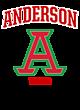 Anderson Ladies Performance Blend V-Neck T-Shirt