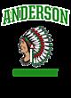 Anderson Womens Holloway Electrify V-Neck Long Sleeve