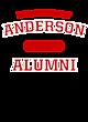 Anderson New Era Tri-Blend Pullover Hooded Sweatshirt