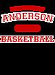 Anderson Ladies Tri-Blend Wicking Long Sleeve Hoodie