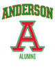 Anderson Adult Baseball T-Shirt