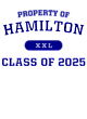 Hamilton Pigment Dyed Crewneck Unisex Sweatshirt