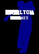 Hamilton Ladies Sport-Wick Heather Fleece Hooded Pullover