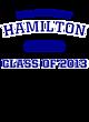 Hamilton Ladies Tri-Blend Wicking Fan Tee