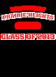 Prairie Heights Ladies Electric Heather Racerback Tank