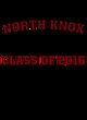 North Knox Ladies Game Long Sleeve V-Neck Tee