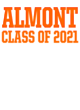 Almont Nike Ladies Core Cotton Scoop Neck T-Shirt