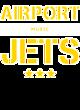 Airport Sport-Wick Heather Fleece Hooded Pullover