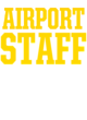 Airport Heavyweight Crewneck Unisex Sweatshirt