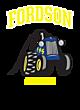 Fordson Womens Holloway Electrify V-Neck Long Sleeve