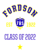 Fordson Ladies Game Long Sleeve V-Neck Tee