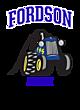 Fordson Womens Sport Tek Heavyweight Hooded Sweatshirt